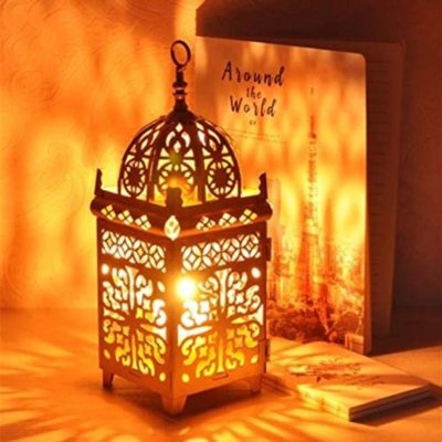 Moroccan Outdoor Decorative Candle Holder