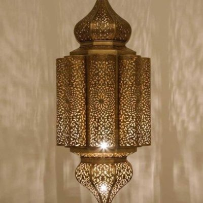 Vintage Moroccan Handcrafted Pendant Light