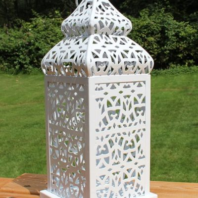 Temple Style Moroccan Outdoor Candle Holder