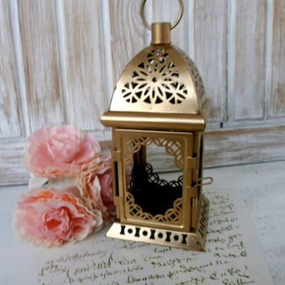 Rustic Moroccan Candle Holder Centerpiece