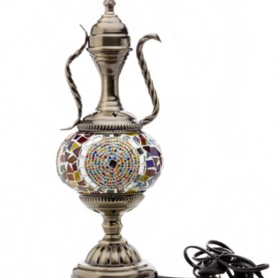Pitcher-Shaped Moroccan Table Lamp