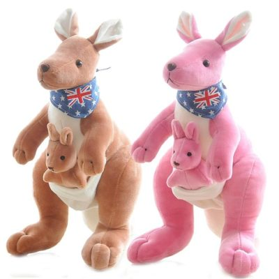 Lovely Mother And Child Kangaroo Plush