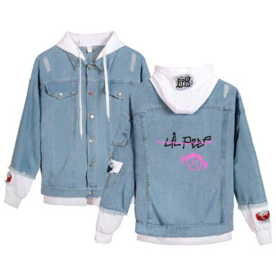 Lil Peep Angry girl Jean Jacket