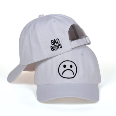 Sad boys Baseball Cap