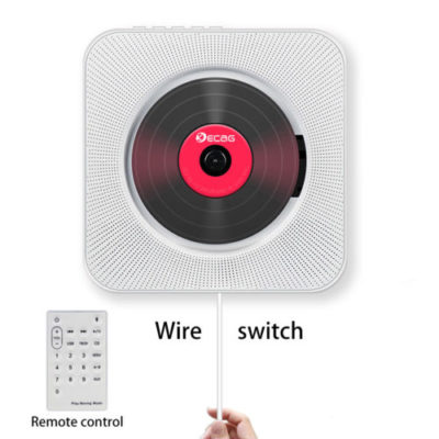 Bluetooth Wall Mounted CD Player