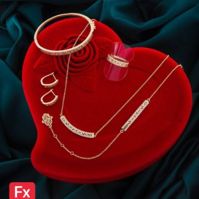 4-piece Moroccan Inspired Jewelry Set