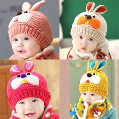 Baby Hat & Scarf